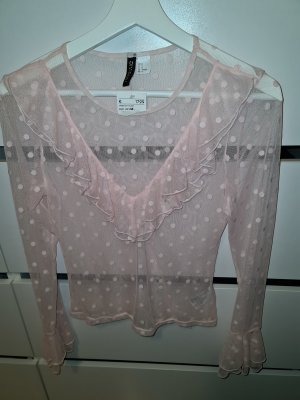 HM Frill Top pink-light pink