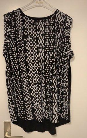Flame T-shirt noir-blanc