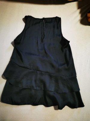 Hailys Maglia con scollo a cappuccio nero