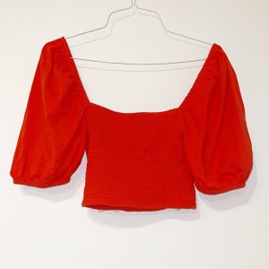 Asos Backless Top red-salmon