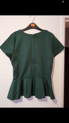 H&M Blusa brillante verde bosco