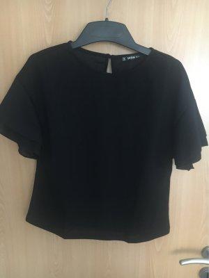 SheIn Batik Shirt black