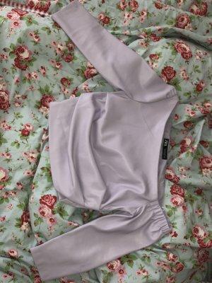 Zara Top monospalla lilla-viola