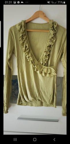 Bluzka oversize oliwkowy