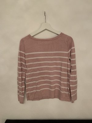 C&A Yessica Pull ras du cou or rose-blanc