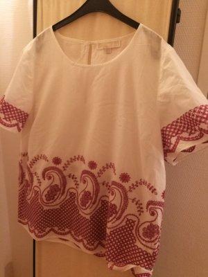 Michael Kors Shirt Tunic white-magenta