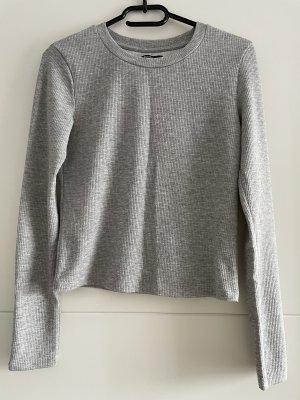 Bershka Sweatshirt lichtgrijs