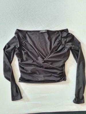 Bershka Blouse topje zwart
