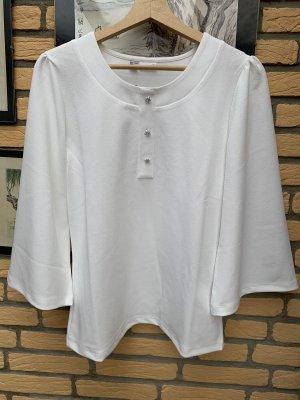 BODY FLIRT Bluzka o kroju koszulki w kolorze białej wełny