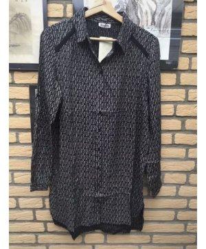 Boysen's Camicia a maniche lunghe nero-bianco