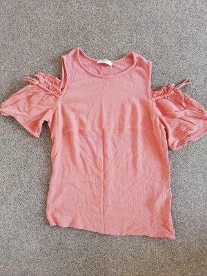 Pieces Top cut-out rosa pallido