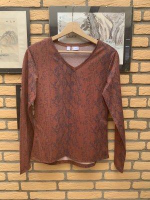 BODY FLIRT Blouse Shirt bronze-colored-black