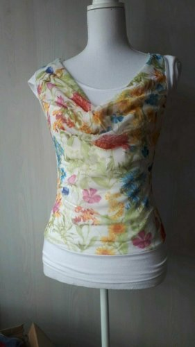 Oberteil Bluse Top Made in Italy S