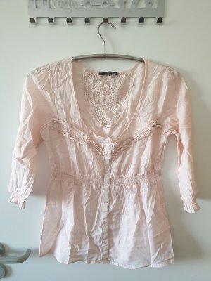 Oberteil Bluse Top Shirt Tally Weijl mit Spitze GR. 42