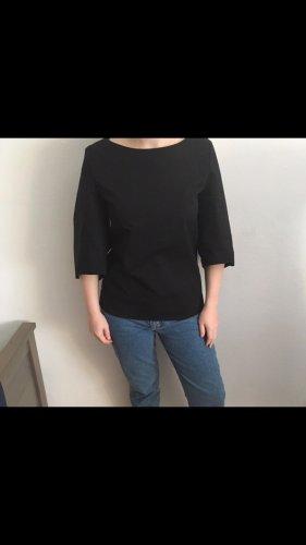 Oberteil Bluse von Cos in 38 schwarz Baumwolle