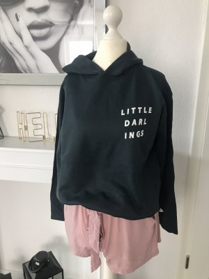 Cotton Candy Hooded Sweater petrol