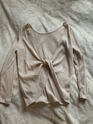 H&M Backless Top cream-natural white