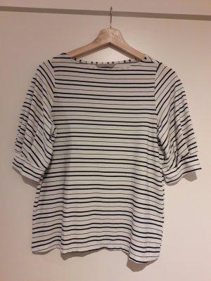 H&M Stripe Shirt white