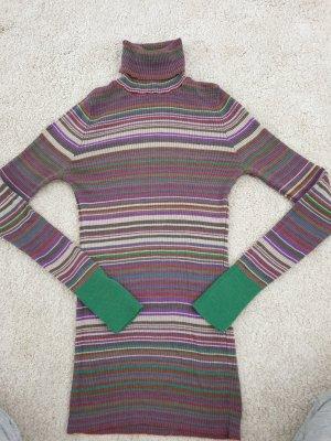 Benetton Top de cuello de cisne multicolor