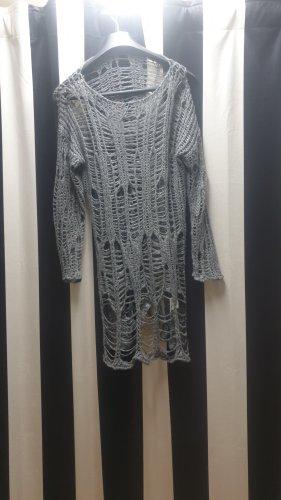 Oversized shirt grijs