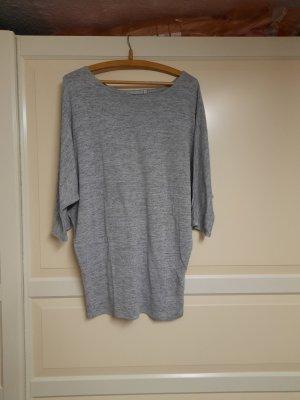 Cowl-Neck Shirt light grey