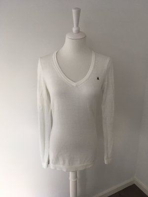 Gaastra V-Neck Sweater white