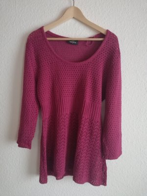 Gina Benotti Crochet Sweater purple