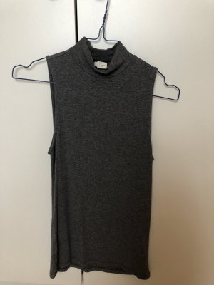 H&M Cárdigan largo gris antracita