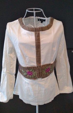 Niza Tradycyjna bluzka biały
