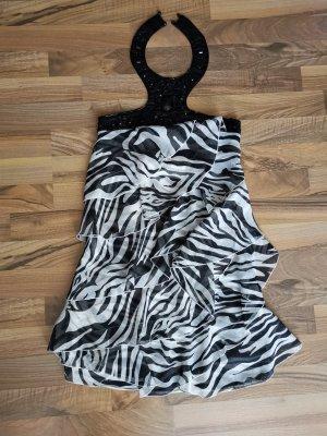 Tally Weijl Halter Dress white-black