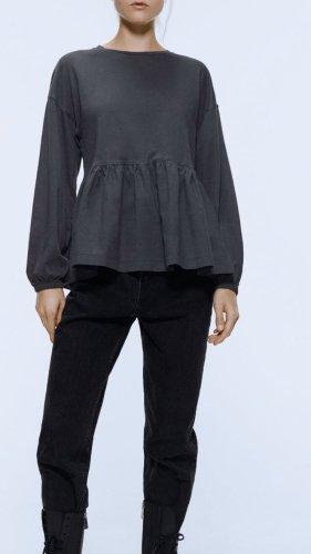 Zara Camicia lunga multicolore