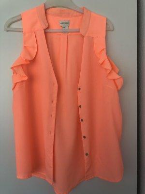 H&M Colletto camicia arancio neon