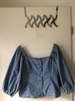 H&M Camicia monospalla blu