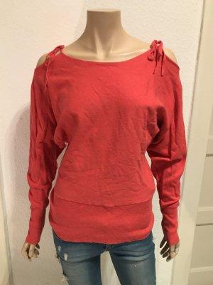 Vero Moda Sweter łosowiowy-brzoskwiniowy