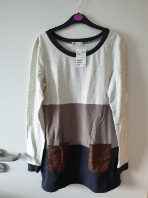 Oberteil lang Kleid Pulli Shirt Gr. 170 S H&M NEU!