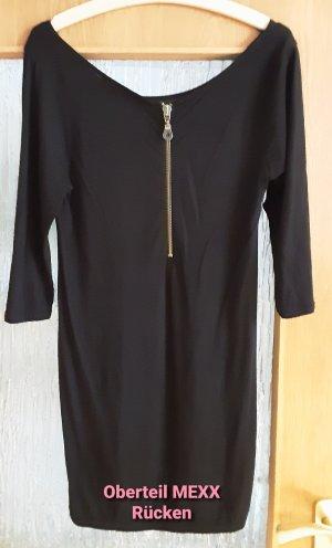 Mexx Lange blouse zwart