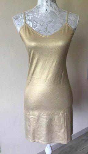 Majestic Filatures Lange blouse goud Katoen