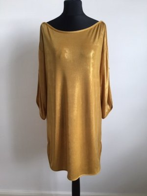 Apart Mini Dress gold-colored