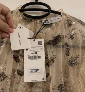 Oberteil mit Pailletten Zara Limited Edition