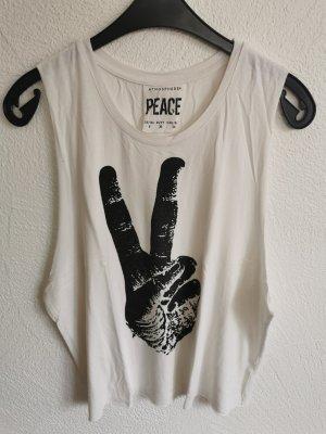 Oberteil mit Peace Aufdruck