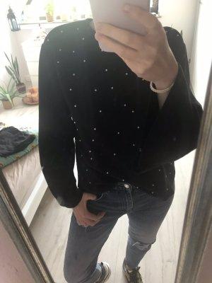 Zara Pull polaire noir
