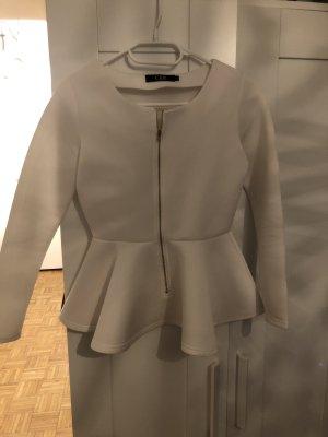 SheIn Crewneck Sweater white-gold-colored