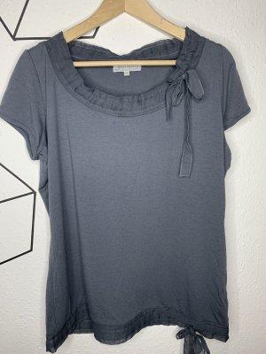 Authentic Boatneck Shirt dark grey