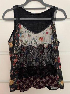 Zara Woman Netshirt zwart