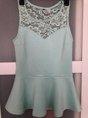 H&M Lace Top mint