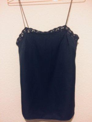 H&M Conscious Collection Canottiera blu scuro