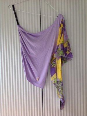 Baby Phat Camicia monospalla multicolore