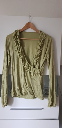 Frill Top olive green