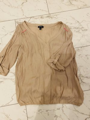 Amphora Short Sleeved Blouse beige