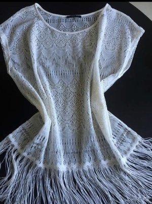 Sisley Crochet Shirt natural white